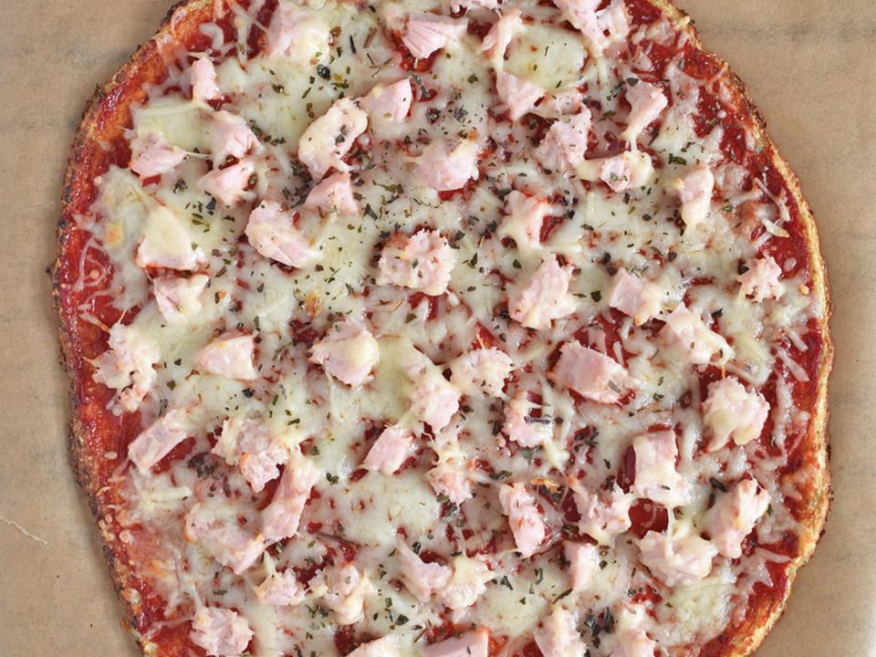 receta sana pizza