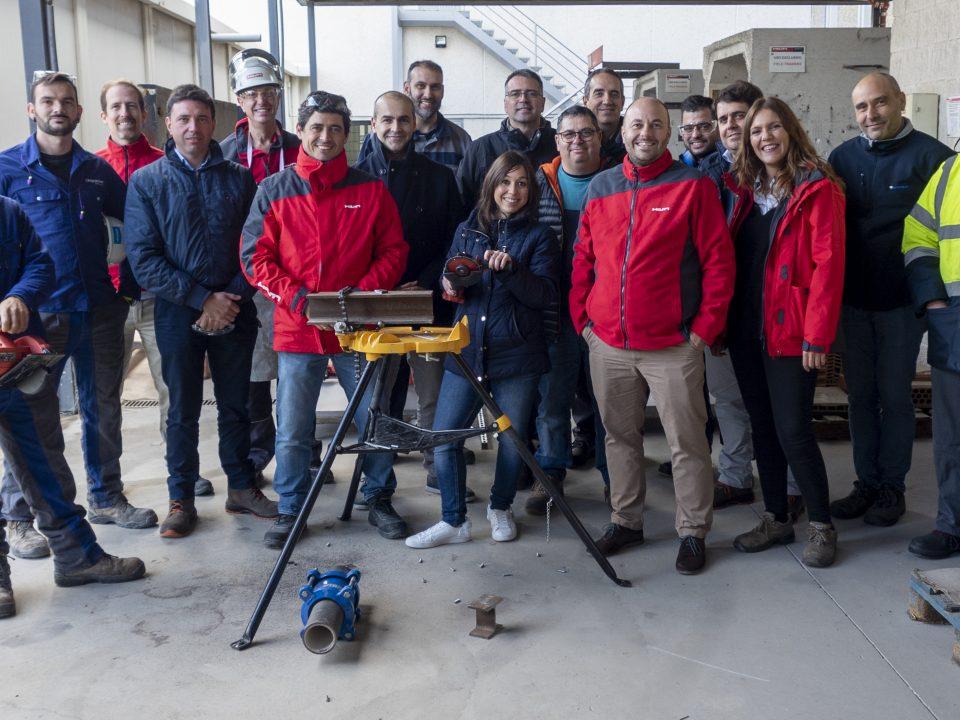 Taller de radiales en Vinci Energies Spain
